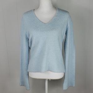 Express : Baby Blue Wool Blend Sweater